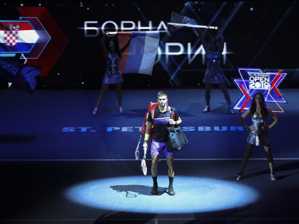 SpbOpen 2019 FormulaTX Sibur-Arena Tennis Tournament  St. Petersburg Open 2019 21 September 2019 CORIC Borna (CRO)
