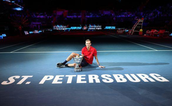 SpbOpen 2019 FormulaTX Sibur-Arena Tennis Tournament  St. Petersburg Open 2019 21 September 2019 ATP Singles Award Ceremony MEDVEDEV Daniil (RUS)