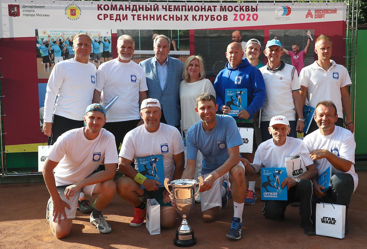 Командный чемпионат москвы среди теннисных клубов 2021 клуб зуева в москве